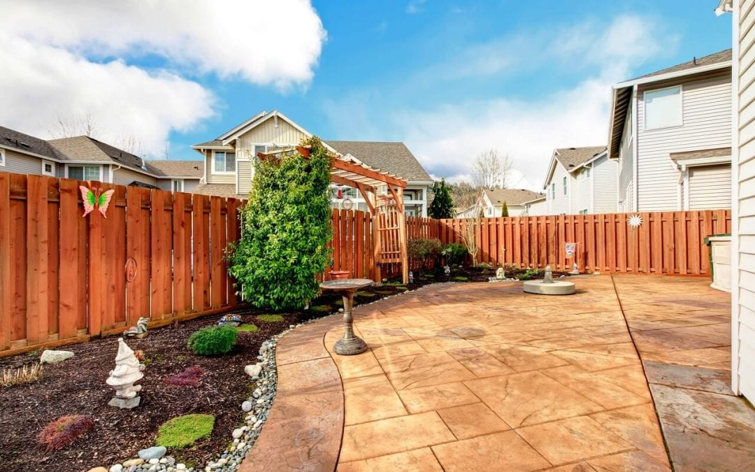 plan for a new fence